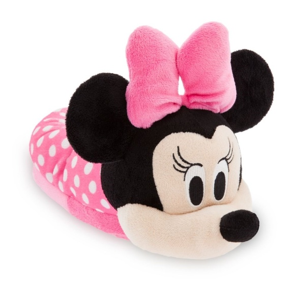 MICKEY MOUSE DISNEY JUNIOR Slippers w// Plush Ears Toddler/'s Size 7//8 or 9//10 NWT